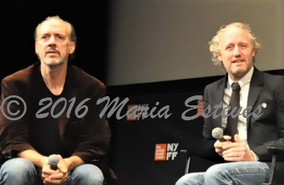 NYFF54 World Premiere of 20TH CENTURY WOMEN: (L-R) Festival director Kent Jones,  NYFF, and director Mike Mills.