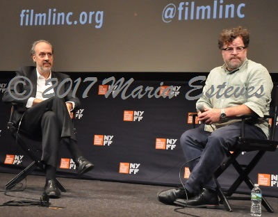 NYFF54 Premiere of MANCHESTER BY THE SEA Press Conference: (L-R) Festival  director Kent Jones, NYFF, and director Kenneth Lonergan.