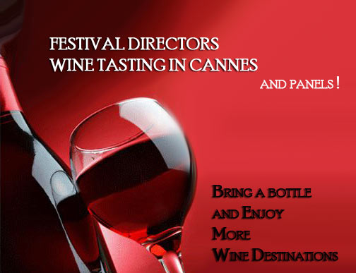 Invitation Wine tasting in Cannes 2011